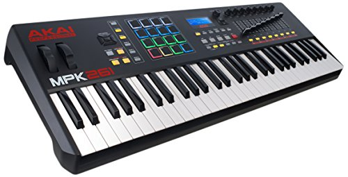 Akai Professional | 61-Key Semi-Weighted USB MIDI Keyboard Controller
