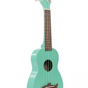Makala Surf Green Shark Soprano Ukulele by Kala