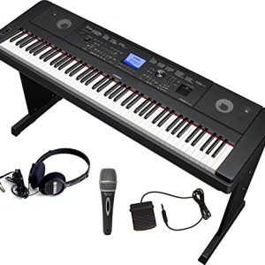 Yamaha Bundle with Furniture Stand, Headphones