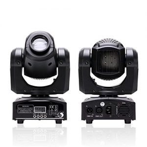 U`King LED Moving Head Light Spot 4 Color Gobos Light