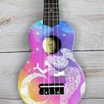 Island Bell Soprano Waikiki Bloom Ukulele with Cushioned Bag Hawaiian Guitar Music Instrument 4 Strings for Beginners Kids (Mahogany, 21 Inch) 3