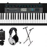 Casio 61-Key Premium Keyboard Pack with Stand, Headphones & Power Supply