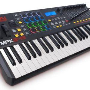 Akai Professional | 49 Key Semi Weighted USB MIDI Keyboard Controller