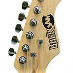RockJam 6 ST Style Electric Guitar Super Pack with Amp, Gig Bag, Strings, Strap, Picks, Right, Black (RJEG02-SK-BK) 3