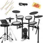 Roland Electronic Drum Set Bundle with Drum Throne