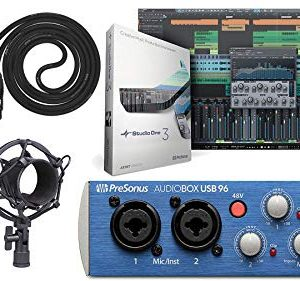 Presonus AudioBox Audio USB 2.0 Recording Interface and Studio