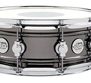 DW Design Series Black Nickel over Brass Snare Drum 14x5.5 Inch