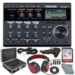 Tascam 6-Track Digital Pocketstudio and Deluxe Accessory Bundle