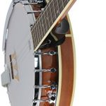 Jameson Guitars 5-String Banjo 24 Bracket with Closed Solid Back and Geared 5th Tuner 1
