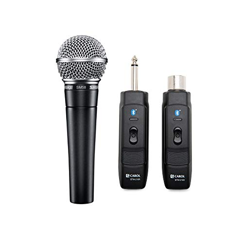 Shure Cardioid Dynamic Vocal Microphone with Knox Gear Microphone