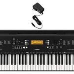 Yamaha PSR-EW300 76-Key Portable Keyboard with Power Supply
