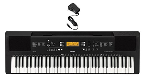 Yamaha 76-Key Portable Keyboard with Power Supply