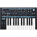 Novation Bass Station II Monophonic Analog Synthesizer and Bundle with Cables + Tascam Headphones + Fibertique Cleaning Cloth 1