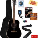 Oscar Schmidt 3/4-Size Kids Learn-to-Play Acoustic Guitar Bundle