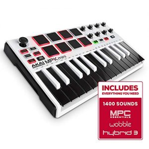 Akai Professional MPK Mini MKII LE White | White, Limited Edition