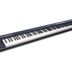 M Audio Keystation 88 II | Ultra-Portable 88 Key USB/MIDI Keyboard Controller