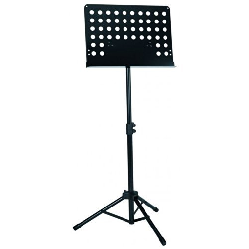 Deluxe Lectern Orchestra Conductor Music Stand - Black