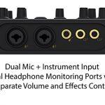 Creative Sound Blaster K3+ USB Powered 2 Channel Digital Mixer AMP/DAC/, Digital Effects XLR Inputs with Phantom Power / TRS / Z Line Inputs 1