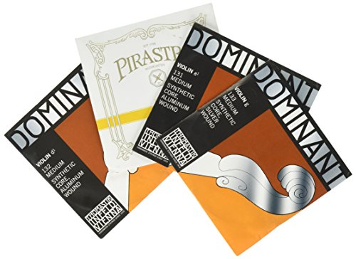 JSI Special 4/4 Violin String Set: Gold Label Ball-End E & Dominant