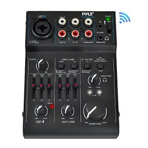 3 Channel Bluetooth Audio Mixer - DJ Sound Controller Interface