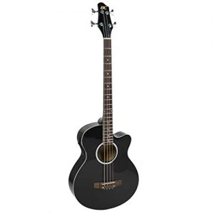 Best Choice Products Acoustic Electric Bass Guitar - Full Size