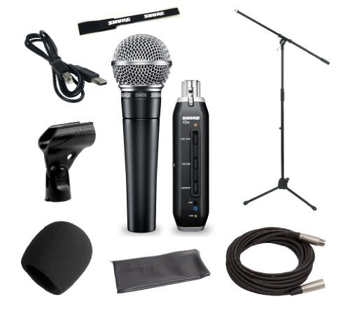 Shure Home Recording Studio Start-up Kit With Shure Vocal Microphone