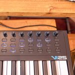Alesis VI25 | 25-Key USB MIDI Keyboard Controller with 16 Pads, 16 Assignable Knobs, 48 Buttons and 5-Pin MIDI Out Plus Production Software Included 3