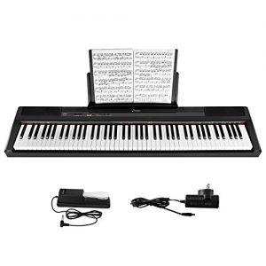 Donner Beginner Digital 88 Key Full Size Semi Weighted Keyboard