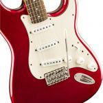Squier by Fender Classic Vibe 60's Stratocaster – Laurel Fingerboard – Candy Apple Red 2