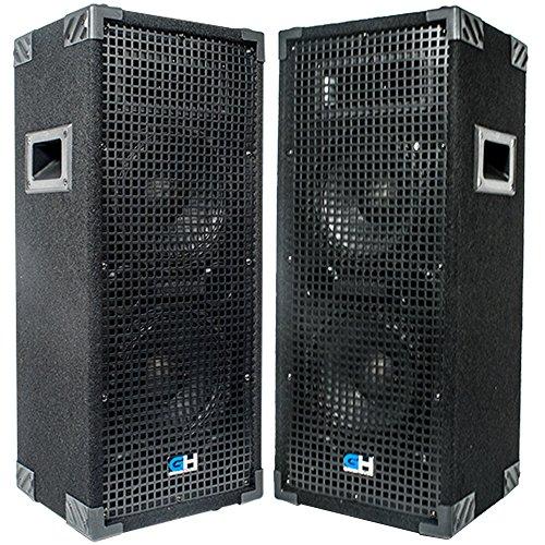 Grindhouse Speakers -Pair of Passive Dual 8 Inch 2-Way