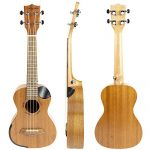 Martin Smith Concert Ukulele Starter Kit with Aquila Strings – Includes Online Lessons, Tuner, Bag, Strap & Spare Strings 1