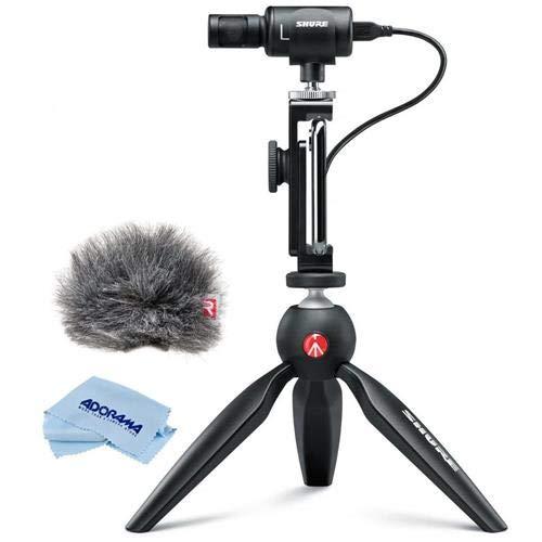 Shure Premium Digital Stereo Condenser Microphone Video Kit