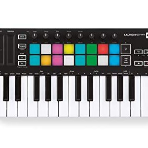 Novation Launchkey Mini 25-Mini-Key MIDI Keyboard