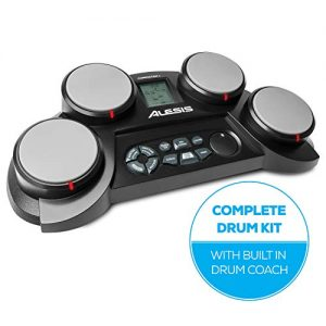 Alesis Compact Kit 4 | Portable 4-Pad Tabletop Electronic Drum Kit
