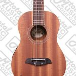 Oscar Schmidt OU2TE Tenor Electric Ukulele, All Mahogany w/Padded Gigbag,Tuner,Strings,Cable & PC 2