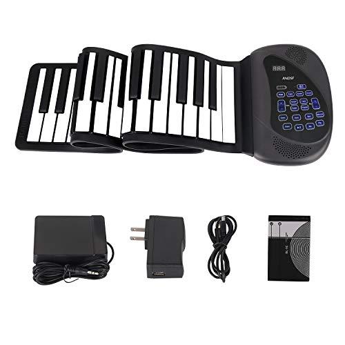 Portable Flexible Electronic 61-Key piano - ANDSF
