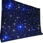 LED backdrop 3m x 4m Blue and white LED Star Curtain