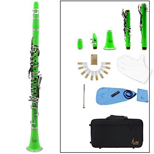 Clarinet,Soprano,17 Key bB Flat,ABS Binocular Clarinet