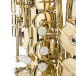 Jean Baptiste 290AL Eb Alto Student Saxophone, Yellow Brass 2