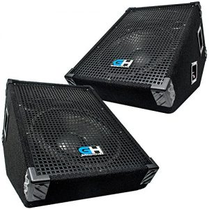 Grindhouse Speakers - Pair of 12 Inch Passive Wedge Floor / Stage Monitors