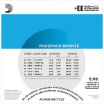 D'Addario EJ16 Phosphor Bronze Acoustic Guitar Strings, Light (25 Pack) – Corrosion-Resistant Phosphor Bronze, Offers a Warm, Bright and Well-Balanced Acoustic Tone and Comfortable Playability 3