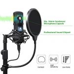 USB Microphone Kit 192KHZ/24BIT MAONO AU-A04T PC Condenser Podcast Streaming Cardioid Mic Plug & Play for Computer, YouTube, Gaming Recording 2