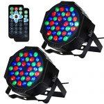 Litake Stage Lights, 36 LED DJ Par Lights with Remote