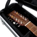 Gator Cases Deluxe ABS Molded Case for 12-String Acoustic Guitars; Fits Dreadnaught Styled 12-String Acoustic Guitars (GC-DREAD-12) 2