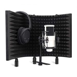 Aokeo Professional Studio Recording Microphone Isolation Shield
