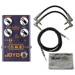 Joyo R Series R-06 OMB Looper Pedal with Drum Machine Function