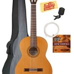 Cordoba Classical Guitar Bundle with Gig Bag, Tuner