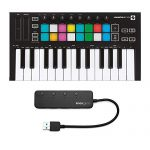 Novation Launchkey Mini MK3 Mini-Key MIDI Keyboard