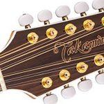 Takamine GJ72CE-12NAT Jumbo Cutaway 12-String Acoustic-Electric Guitar 3
