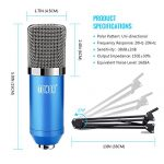 TONOR Pro Condenser Microphone XLR to 3.5mm Podcasting Studio Recording Condenser Microphone Kit Computer Mics with 48V Phantom Power Supply 2
